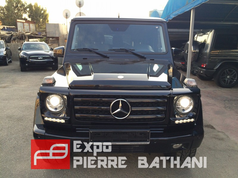 Mercedes benz g500 2013 expo pierre bathani quality for Mercedes benz g500 used