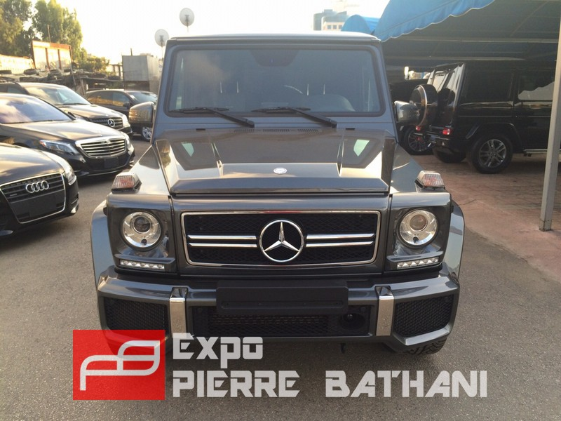 Mercedes benz g63 2015 amg expo pierre bathani quality for Mercedes benz new cars 2015